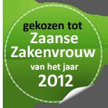 Imsus: gekozen tot Zaanse Zakenvrouw van 2012
