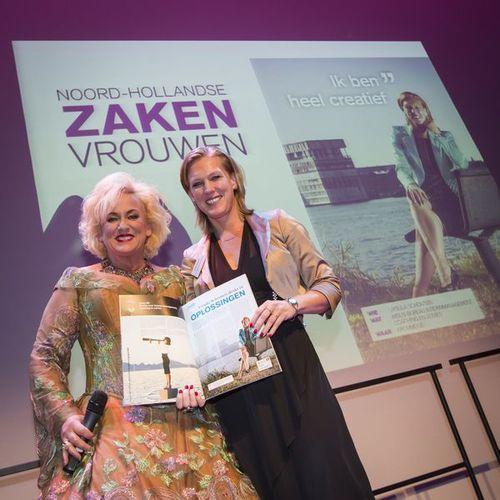 Ursula Schouten met Karin Bloemen - Noord-Hollandse Zakenvrouwen